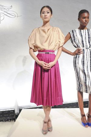 Показ Rachel Roy коллекции сезона Весна-лето 2011 года prêt-à-porter - www.elle.ru - Подиум - фото 176553