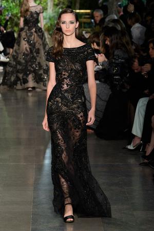 Показ Elie Saab коллекции сезона Весна-лето 2015 года haute couture - www.elle.ru - Подиум - фото 593076