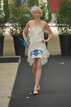 Показ On Aura Tout Vu коллекции сезона Осень-зима 2009-2010 года haute couture - www.elle.ru - Подиум - фото 88222
