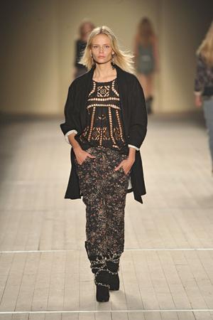 Показ Isabel Marant коллекции сезона Весна-лето 2009 года prêt-à-porter - www.elle.ru - Подиум - фото 85051