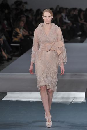 Показ Elie Saab коллекции сезона Весна-лето 2009 года Haute couture - www.elle.ru - Подиум - фото 86589