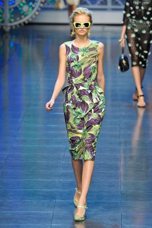 Показ Dolce & Gabbana коллекции сезона Весна-лето 2012 года prêt-à-porter - www.elle.ru - Подиум - фото 304302