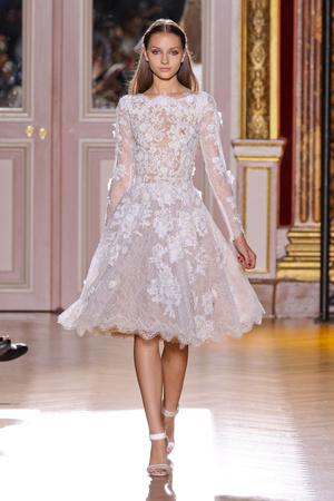 Показ Zuhair Murad коллекции сезона Осень-зима 2012-2013 года haute couture - www.elle.ru - Подиум - фото 404984