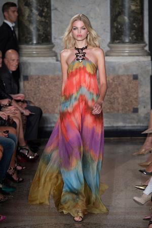 Показ Emilio Pucci коллекции сезона Весна-лето 2015 года prêt-à-porter - www.elle.ru - Подиум - фото 589805