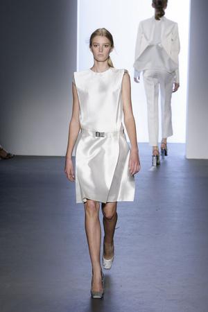 Показ Calvin Klein коллекции сезона Весна-лето 2009 года prêt-à-porter - www.elle.ru - Подиум - фото 72261