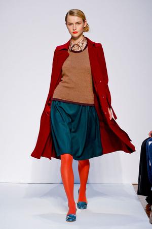 Показ Mila Schon коллекции сезона Осень-зима 2011-2012 года prêt-à-porter - www.elle.ru - Подиум - фото 246634
