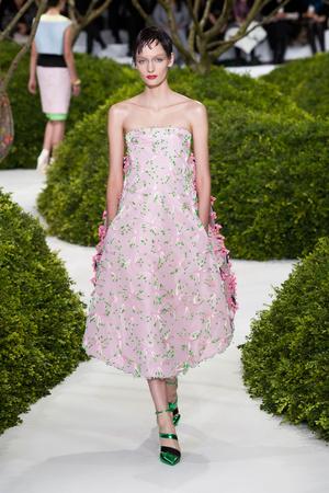 Показ Christian Dior коллекции сезона Весна-лето 2013 года Haute couture - www.elle.ru - Подиум - фото 477467