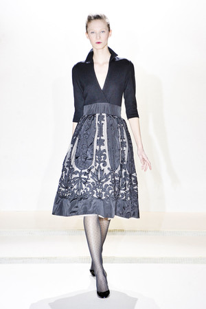 Показ Collette Dinnigan коллекции сезона Осень-зима 2011-2012 года Prêt-à-porter - www.elle.ru - Подиум - фото 255526