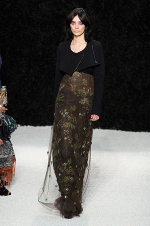Показ Vera Wang коллекции сезона Весна-лето 2015 года Prêt-à-porter - www.elle.ru - Подиум - фото 586485