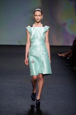 Показ Christian Dior коллекции сезона Осень-зима 2013-2014 года haute couture - www.elle.ru - Подиум - фото 556346
