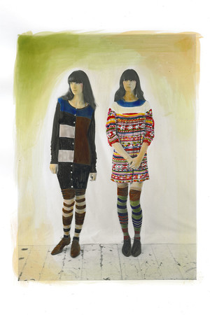 Показ Eley Kishimoto коллекции сезона Осень-зима 2010-2011 года Prêt-à-porter - www.elle.ru - Подиум - фото 149287