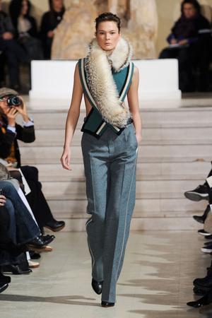 Показ Bouchra Jarrar коллекции сезона Весна-лето 2012 года Haute couture - www.elle.ru - Подиум - фото 330139