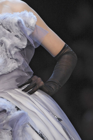 Показ Christian Dior коллекции сезона Весна-лето 2011 года haute couture - www.elle.ru - Подиум - фото 215448