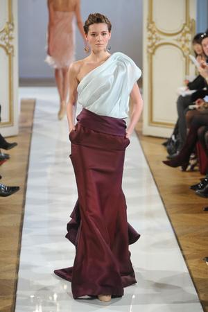 Показ Christophe Josse коллекции сезона Весна-лето 2012 года haute couture - www.elle.ru - Подиум - фото 330185