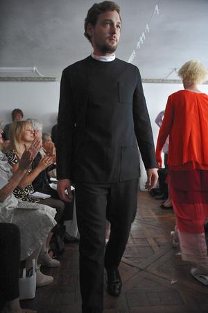 Показ Adeline Andre коллекции сезона Осень-зима 2009-2010 года Haute couture - www.elle.ru - Подиум - фото 87043