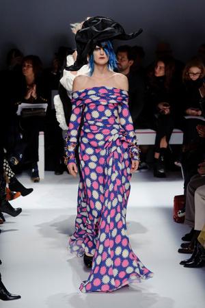 Показ Schiaparelli коллекции сезона Весна-лето 2014 года haute couture - www.elle.ru - Подиум - фото 574223