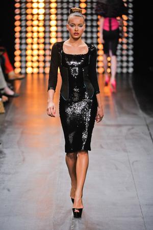 Показ Julien Fournie коллекции сезона Осень-зима 2012-2013 года Haute couture - www.elle.ru - Подиум - фото 404521