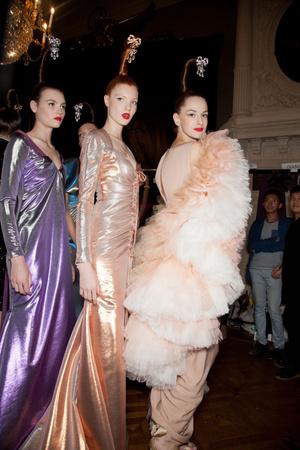 Показ Alexis Mabille коллекции сезона Осень-зима 2012-2013 года haute couture - www.elle.ru - Подиум - фото 403570
