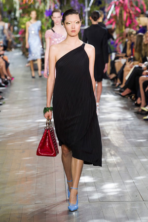 Показ Christian Dior коллекции сезона Весна-лето 2014 года prêt-à-porter - www.elle.ru - Подиум - фото 568356