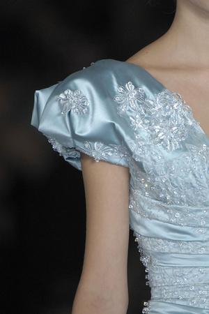 Показ Elie Saab коллекции сезона Весна-лето 2009 года Haute couture - www.elle.ru - Подиум - фото 86578