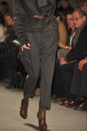 Показ Donna Karan коллекции сезона Осень-зима 2009-2010 года prêt-à-porter - www.elle.ru - Подиум - фото 90091