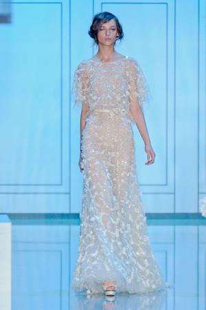 Показ Elie Saab коллекции сезона Осень-зима 2011-2012 года haute couture - www.elle.ru - Подиум - фото 278801