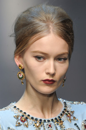 Показ Dolce & Gabbana коллекции сезона Осень-зима 2013-2014 года Prêt-à-porter - www.elle.ru - Подиум - фото 529744