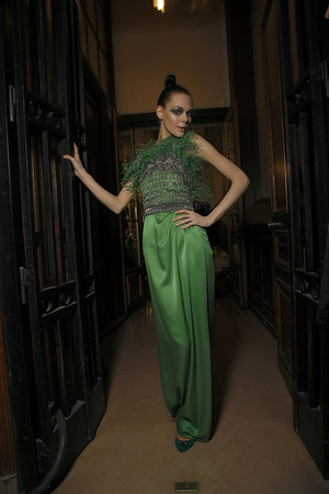 Показ Valentino коллекции сезона Весна-лето 2009 года Haute couture - www.elle.ru - Подиум - фото 86956
