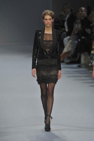 Показ Christophe Josse коллекции сезона Осень-зима 2009-2010 года Haute couture - www.elle.ru - Подиум - фото 87377