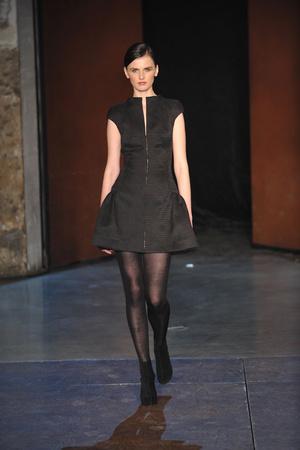 Показ Lefranc Ferrant коллекции сезона Весна-лето 2010 года Haute couture - www.elle.ru - Подиум - фото 139119