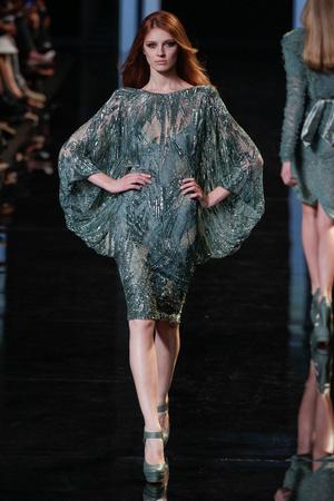 Показ Elie Saab коллекции сезона Осень-зима 2010-2011 года haute couture - www.elle.ru - Подиум - фото 168168