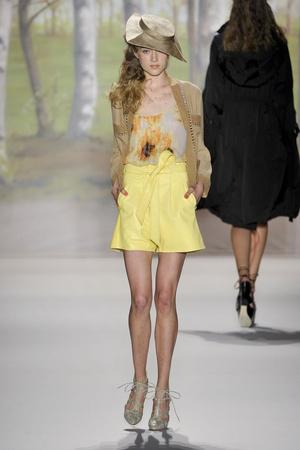 Показ Tracy Reese коллекции сезона Весна-лето 2012 года Prêt-à-porter - www.elle.ru - Подиум - фото 293648