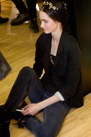Показ Dolce & Gabbana коллекции сезона Осень-зима 2012-2013 года Prêt-à-porter - www.elle.ru - Подиум - фото 370375