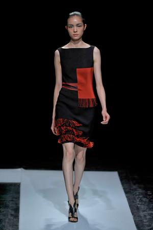 Показ Maxime Simoens коллекции сезона Осень-зима 2011-2012 года haute couture - www.elle.ru - Подиум - фото 278928