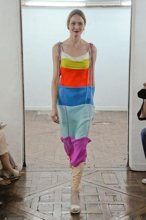 Показ Adeline Andre коллекции сезона Осень-зима 2010-2011 года Haute couture - www.elle.ru - Подиум - фото 167255