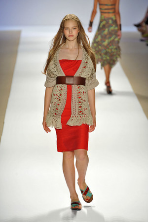 Показ Nanette Lepore коллекции сезона Весна-лето 2009 года prêt-à-porter - www.elle.ru - Подиум - фото 75001