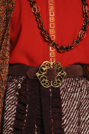 Показ Anna Sui коллекции сезона Осень-зима 2012-2013 года Prêt-à-porter - www.elle.ru - Подиум - фото 350012
