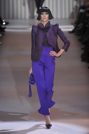 Показ Giorgio Armani Privé коллекции сезона Весна-лето 2009 года Haute couture - www.elle.ru - Подиум - фото 86764